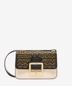Die Janelle Tasche Schwarz Gold