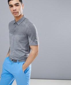 Puma - Golf Evoknit 57454707 - Nahtloses Poloshirt in Grau - Grau