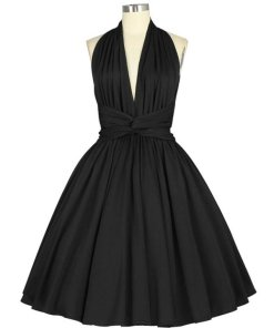 Sleeveless Dress Black