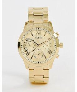 Guess - W1070L2 - Solar-Armbanduhr - Gold