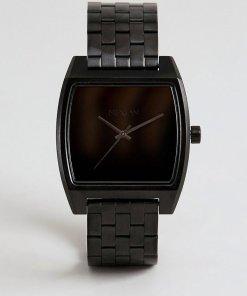 Nixon - A1245 Time Tracker - Schwarze Armbanduhr - Schwarz