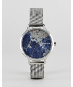 Skagen - SKW2718 Anita - Armbanduhr mit Netzband in Silber - Silber
