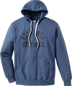 Kapuzensweatshirt mit Spezial-Bauchschnitt Regular Fit