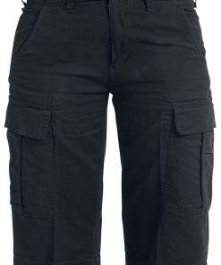 Brandit Havannah Vintage Shorts Girl-Shorts schwarz