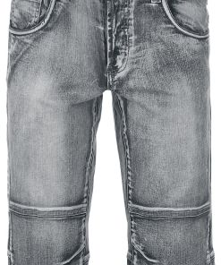Forplay Denim Shorts Shorts grau