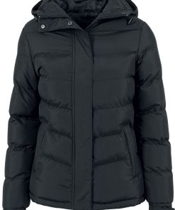 Urban Classics Ladies Bubble Jacket Girl-Winter-Jacke schwarz