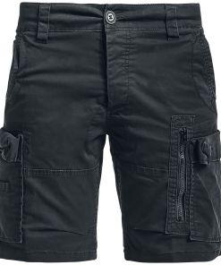 Brandit Kite Short Slim Fit Shorts schwarz