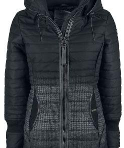 Khujo Mldd2 Girl-Winter-Jacke grau