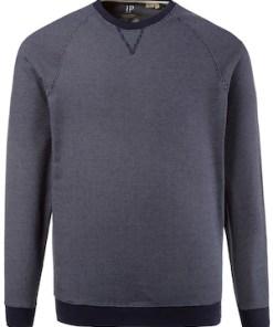 Ulla Popken Sweatshirt, Sweater, runder Ausschnitt, Raglanärmel - Große Größen 708305