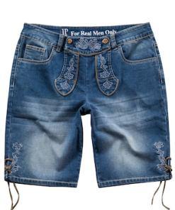Ulla Popken Trachten-Bermuda, Jeans, Stickereien - Große Größen 711664
