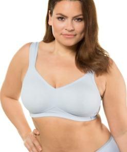 Ulla Popken BH, bügellos, breite Träger, T-Shirt-BH - Große Größen 714156