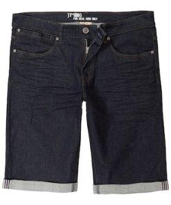 Ulla Popken Jeans-Bermuda, Raw Denim, bis Gr. 70 - Große Größen 715497