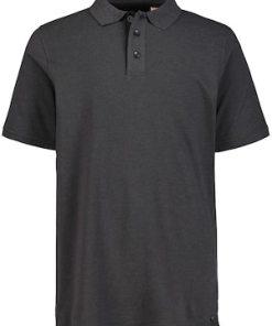 Ulla Popken Poloshirt, Piqué, Jersey-Details, Halbarm - Große Größen 716911