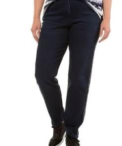 Ulla Popken Jeans Sammy, Galonstreifen, schmale 5-Pocket-Form - Große Größen 719813