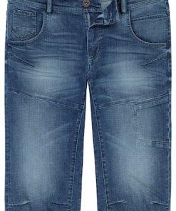 Ulla Popken 3/4-Jeanshose, 6 Pocket, bequem geschnitten - Große Größen 720226