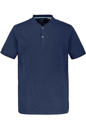 Ulla Popken Henley-Shirt, Knopfleiste, Halbarm - Große Größen 720269