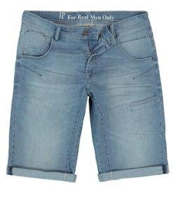 Ulla Popken Jeans-Bermuda, Trend-Waschung, 6-Pocket, Straight Fit - Große Größen 721122