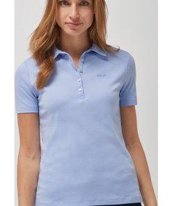 Polo-Shirt Thea in Pastellblau