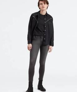 710™ Super Skinny Jeans - Schwarz / Black