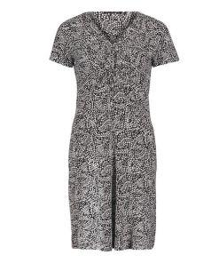 Betty Barclay Jerseykleid mit Muster in Schwarz/Weiß , Grafisch , Feminin