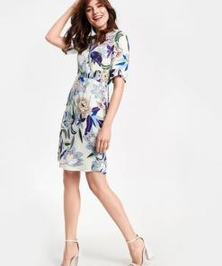 Kleid mit Wickeleffekt Limited Edition  36/S