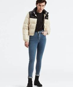 Mile High Super Skinny Jeans - Mittlere Waschung / Indigo