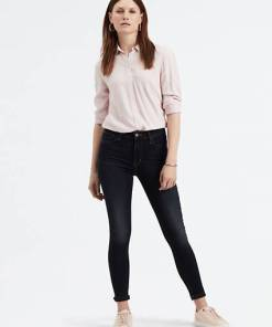 720™ High Waisted Super Skinny Jeans - Blau / Blue