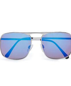 VANS Holsted Sonnenbrille (silver-black) Herren Blau, One Size