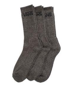 VANS Classic Crew Socken (3 Paar) (black Heather) Herren Schwarz, One Size