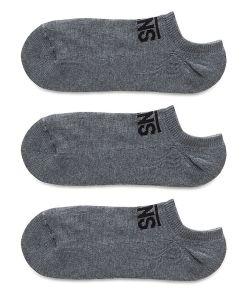 VANS Classic Kick Socken (3 Paar) (heather Grey) Herren Grau, One Size