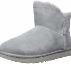 UGG Stiefeletten grau Classic Mini Fluff High Low 40