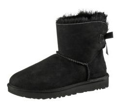 Ugg Mini Bailey BOW II Stiefel Damen in black, Größe 40