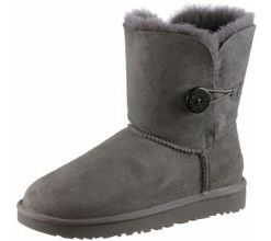 Ugg Bailey Button II Stiefel Damen in grey, Größe 37