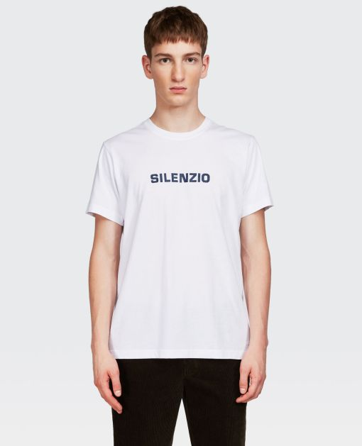 Aspesi T-shirts und Polo - T-SHIRT SILENZIO OPTISCH WEIß 100% Baumwolle XS