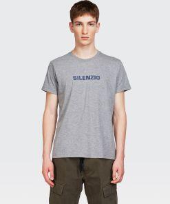 Aspesi T-shirts und Polo - SILENZIO T-Shirt MITTLERES GRAU 65% Baumwolle, 35% Polyester S