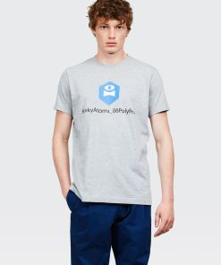 Aspesi T-shirts und Polo - POLYFEM T-SHIRT HELLGRAU 65% Baumwolle, 35% Polyester S