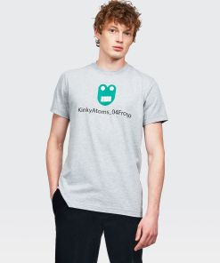 Aspesi T-shirts und Polo - FROGO T-SHIRT HELLGRAU 65% Baumwolle, 35% Polyester S