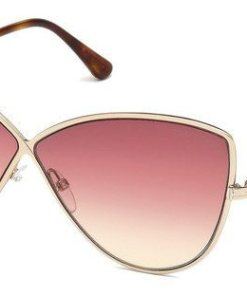 Tom Ford Damen Sonnenbrille »FT0569« goldfarben