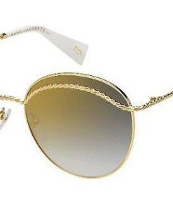 MARC JACOBS Damen Sonnenbrille »MARC 253/S« goldfarben