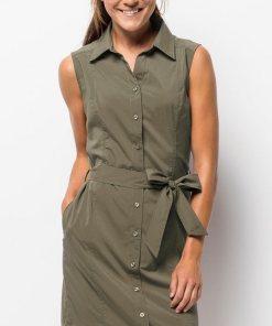 Jack Wolfskin Sommerkleid »SONORA DRESS« grün