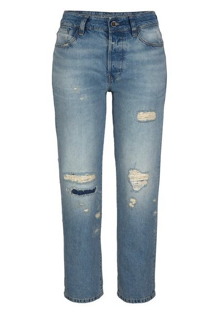 G-Star RAW Boyfriend-Jeans »Midge S High Boyfriend Wmn« mit Organic Cotton blau