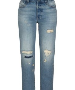 G-Star RAW Boyfriend-Jeans »Midge S High Boyfriend Wmn« mit Organic Cotton blau