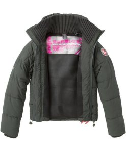 Superdry Steppjacke »SOFT TECH WINDCHEATER« in modischer Kurzform schwarz