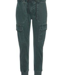 Pepe Jeans Jogger Pants »CRUSADE« im Cargo-Design mit Used-Waschung grün