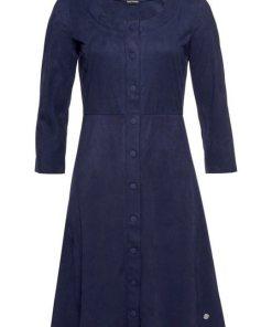 Bruno Banani A-Linien-Kleid mit 3/4-Ärmeln