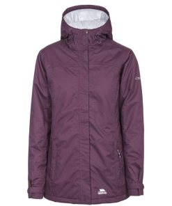 Trespass Steppjacke »Damen Outdoorjacke Edna wasserfest  wattiert« lila