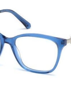 Swarovski Damen Brille »SK5306« blau