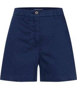 TOMMY HILFIGER Bermudas »ESSENTIAL« Tommy-Streifen an einer Gesäßtasche blau