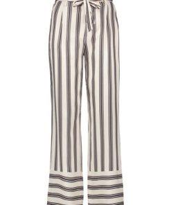GERRY WEBER Hose Freizeit lang »Hose mit Streifen Dessin« bunt
