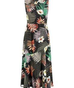 GERRY WEBER Kleid Gewebe »Kleid mit Floralprint« bunt
